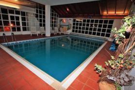 Italský hotel Regina delle Dolomiti s bazénem