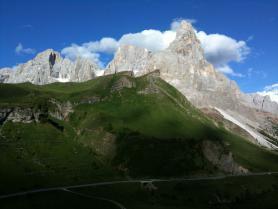 Val di Fiemme - horská skupina Pale di San Martino