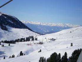 Skiareál Latemar ve Val di Fiemme