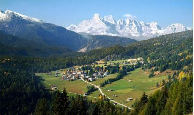 Val di Fiemme v létě