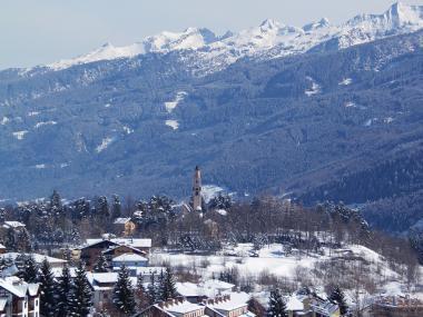 Alpe Cermis a zimní Cavalese, Val di Fiemme