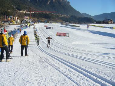Údolí Val di Fiemme - závod Marcialonga