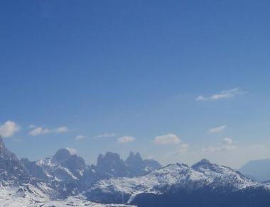 Val di Fiemme - horská krajina