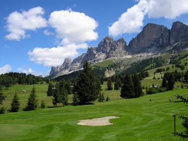 Golfové hřiště Golf Clubu Carezza