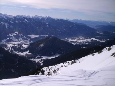 Snowpark Pampeago - Obereggen - okolí