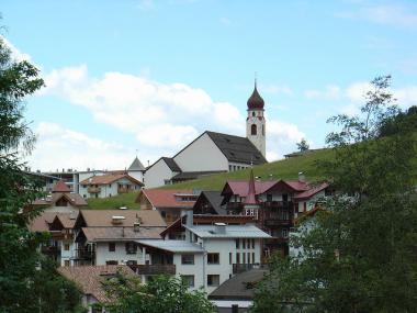 Italská vesnička Welschnofen