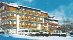 Italský hotel Olimpionico v zimě