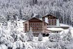 Italský hotel Shandranj v zimě
