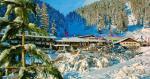 Italský hotel Sport Pampeago v zimě